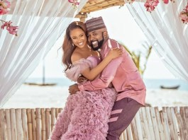The Long Awaited Banky W And Adesuwa First Child Is Here!
