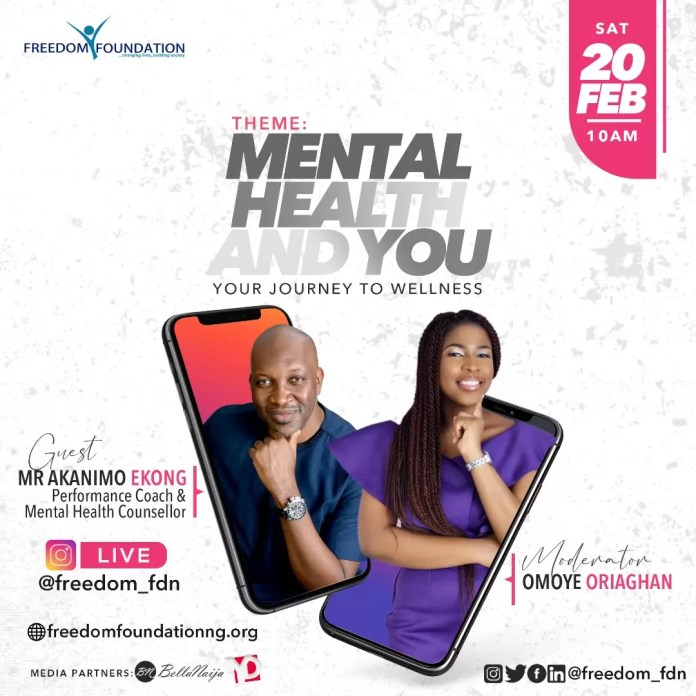 , Freedom Foundation is inviting the general public to be a part of this conversation on Mental Health and You