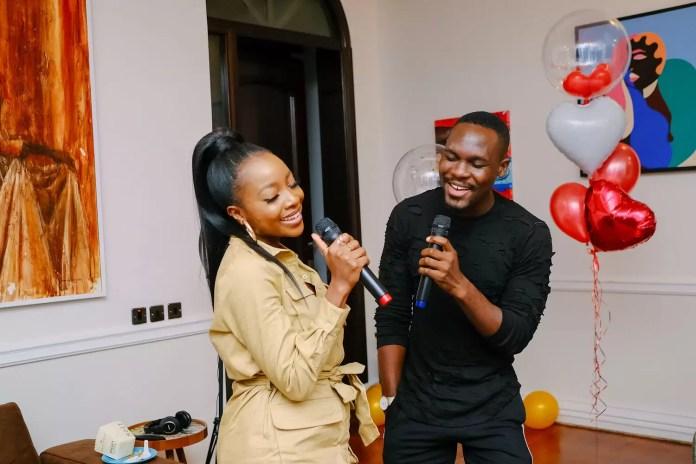 Ini Dima Okojie Hosts 'Namaste Wahala' Home Party With Friends