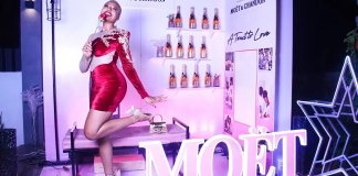 'Moët & Chandon Hosts Moët Valentine's Day dinner'