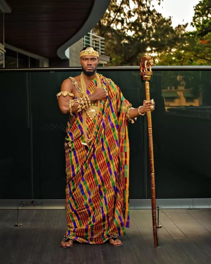 """Our Favorite Nigerian Celebrites """"African Royalty"""" Outfit To 'Coming 2 America 2' Premiere/Prince"""