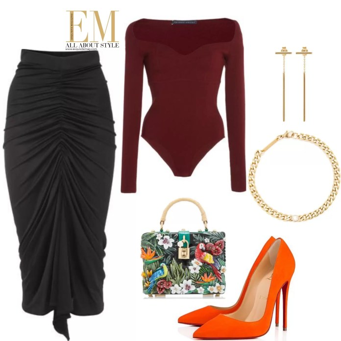 Who Said Pencil Skirts Have To Be Boring? 2