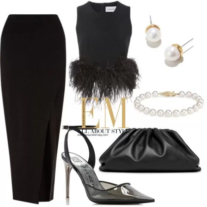 A Full Week Of Stylish Black Outfits Look! 3