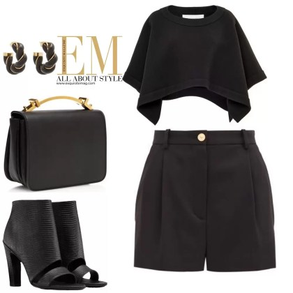A Full Week Of Stylish Black Outfits Look! 2