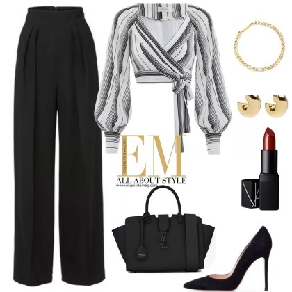 A Full Week Of Stylish Black Outfits Look! 6