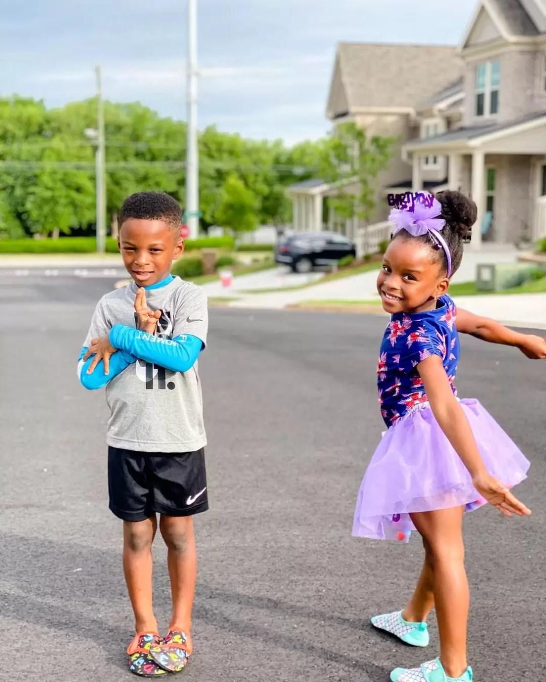 Paul Okoye Celebrates His Twins 4th Year Birthday