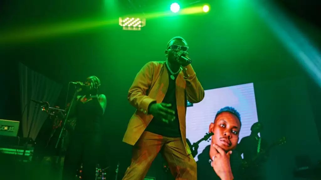 Excitement As Olakira Hosts First Live Performance Listening Party; Performs 4play Ep To Exclusive Audience