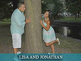 Lisa Martinez and Jonathan Evora
