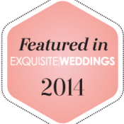 Exquisite Weddings 2014 badge