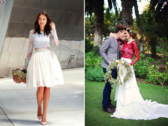 Fabulous Finds: Wedding Gown Separates