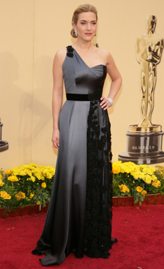 Kate Winslet 2 at the Oscars 2009 on Exshoesme.com