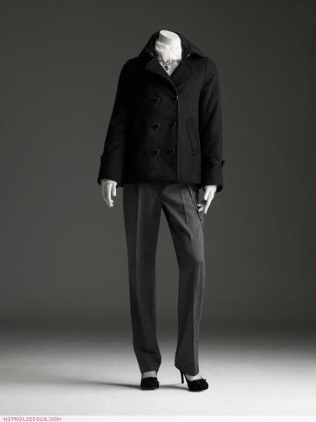 Our pretty pea coat by Viktor & Rolf for H&M