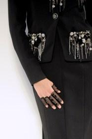 Fingerless and gloveless gloves at Chanel