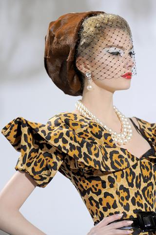 Dior's Spotty Siren, Couture FW09