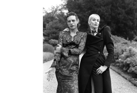 2. Mick Jagger & Jerry Hall by Brigitte Lacombe