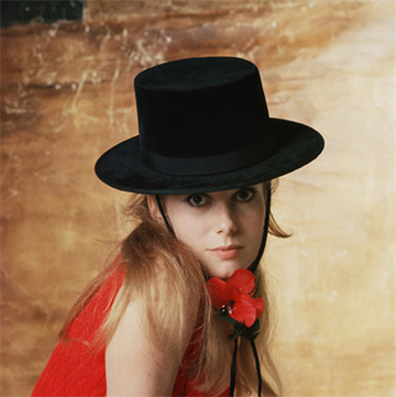 A young Catherine Deneuve