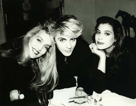 10. Jerry with Nick Rhodes and friend, 1986
