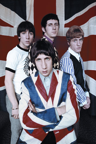 The Who, 1966. Photo by Colin Jones.