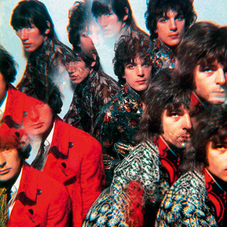 Pink Floyd, 1967, cover of debut album Piper at the Gates of Dawn. Photo by Vic Singh.