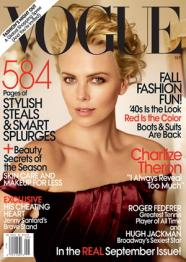 Sept 09 Vogue Cover with Charlize Theron