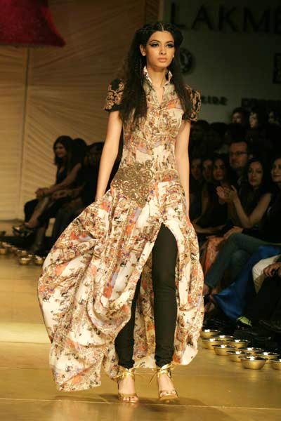 My dream Diwali dress and skinnies by Anamika Khanna AW09