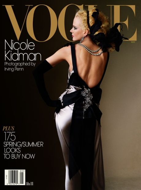 Nicole Kidman on Vogue, May 2004 by Penn