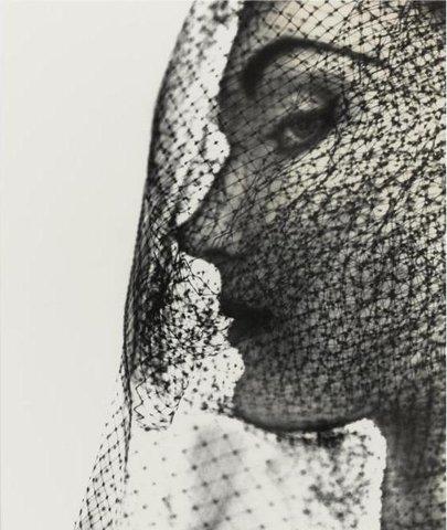 Veiled Face by Penn, 1949