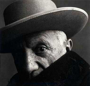 Pablo Picasso by Penn, 1957