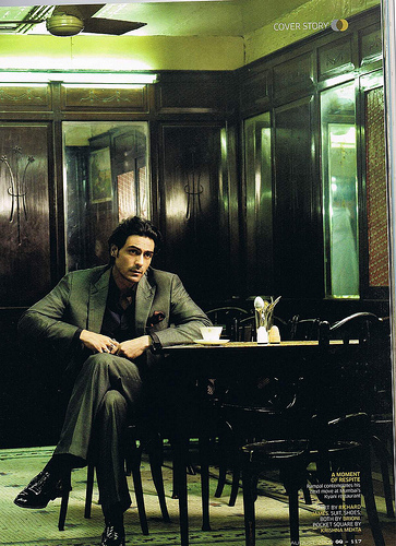 Arjun Rampal in GQ India August 2009 on Exshoesme.com