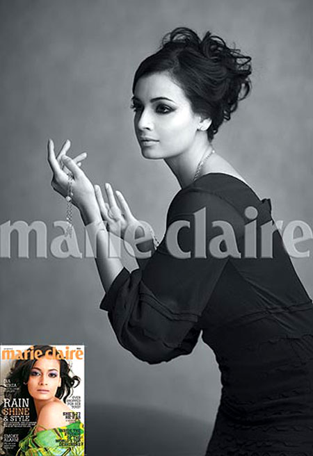 dia mirza for marie claire
