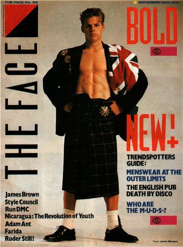The Face magazine November 1984 on Exshoesme.com