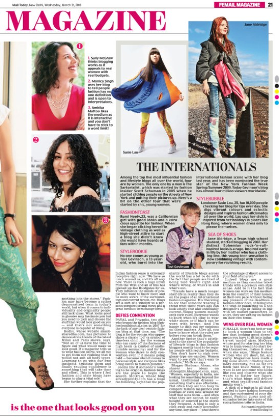 Mail Today Newspaper Exshoesme.com Feature March 31 2010 Page 25