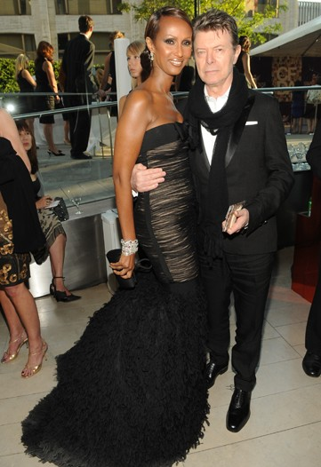 David Bowie and Iman at the CFDA Awards 2010 on Exshoesme.com