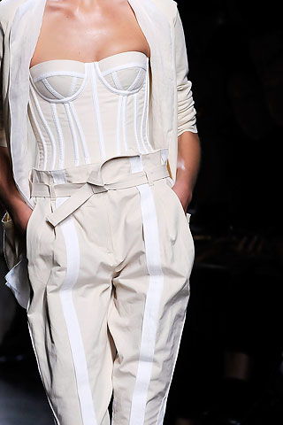 corsets at bottega ss10