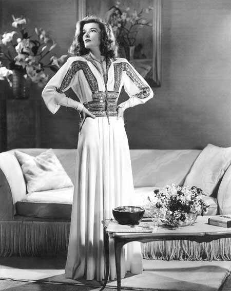 Katherine Hepburn in The Philadelphia Story, 1940 on exshoesme.com