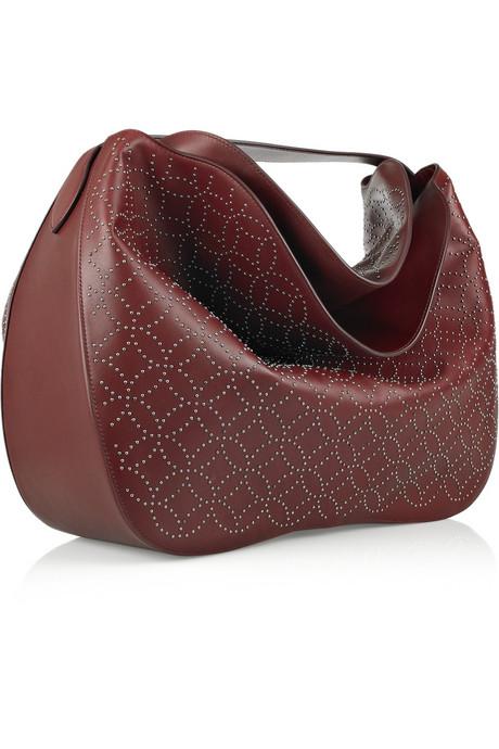 Alaia studded hobo bag on exshoesme.com