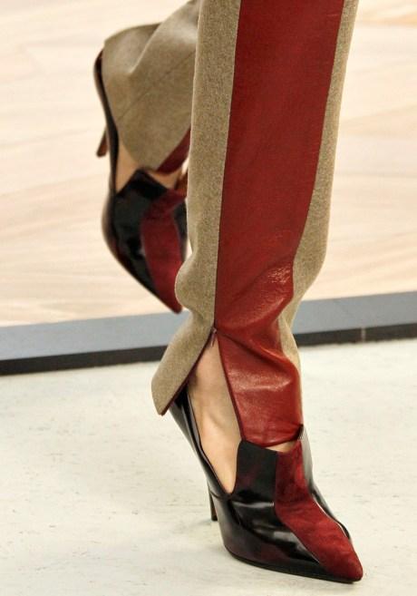 Celine FW11 striped pant and shoe on exshoesme.com