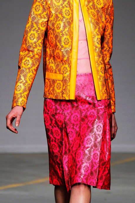 Christopher Kane SS11 stamped floral set