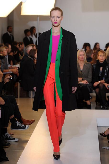 Jil Sander Colour Block Dressing SS11 on exshoesme.com