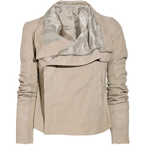 Rick Owens blister wash jacket on exshoesme.com