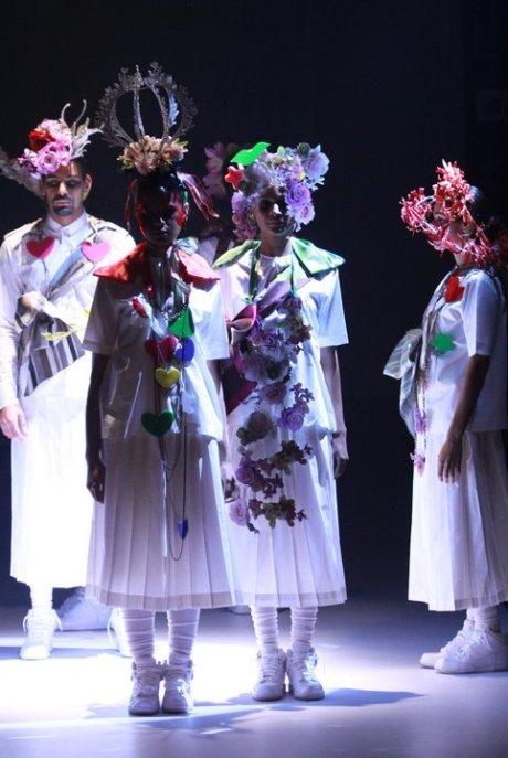 Little Shilpa Lakme Fashion Week SR11 on exshoesme.com