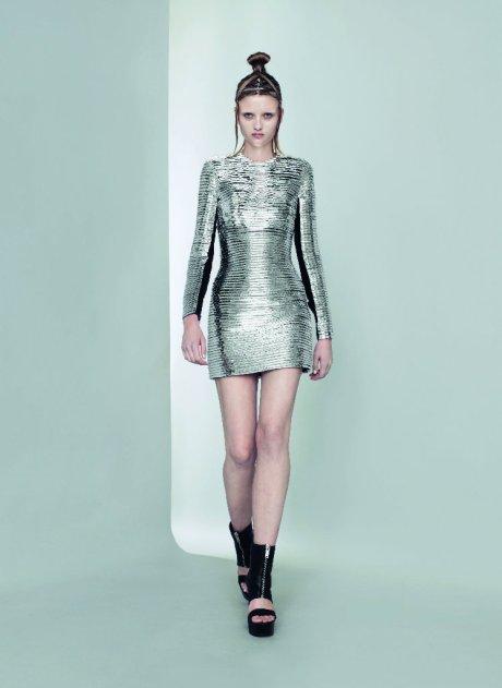 Gareth Pugh Silver Dress SS11 on exshoesme.com
