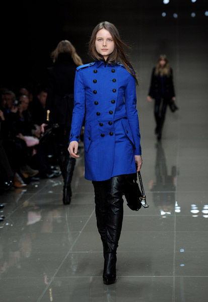 Burberry Prorsum Runway - LFW Autumn/Winter 2010
