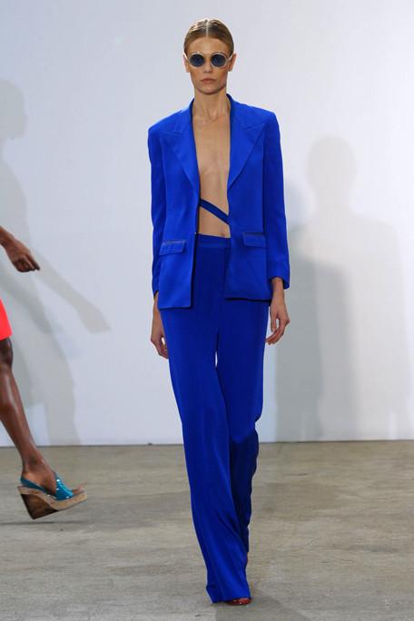 Costume National SS11 Electric Blue Suit on exshoesme.com