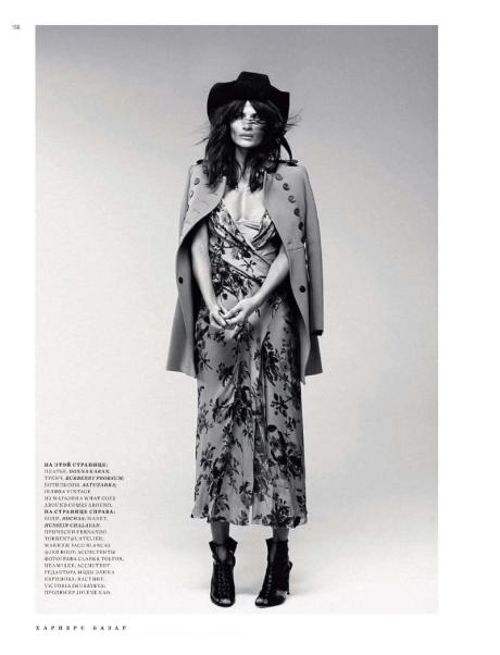Helena Christensen for Harper's Bazaar Russia May 2011 by Luis Sanchis on exshoesme.com 10