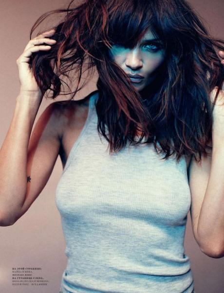 Helena Christensen for Harper's Bazaar Russia May 2011 by Luis Sanchis on exshoesme.com 3
