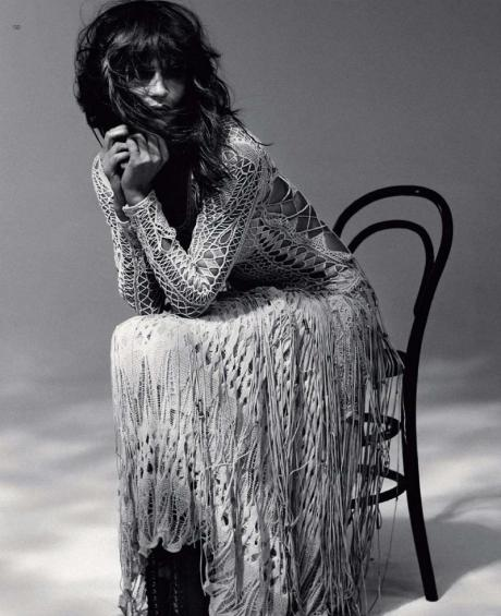 Helena Christensen for Harper's Bazaar Russia May 2011 by Luis Sanchis on exshoesme.com 6