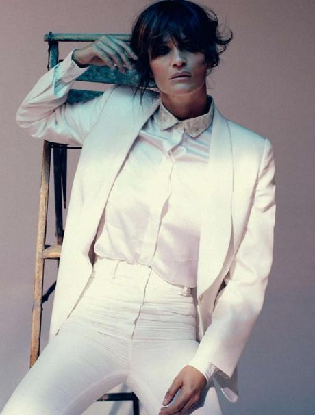 Helena Christensen for Harper's Bazaar Russia May 2011 by Luis Sanchis on exshoesme.com 8
