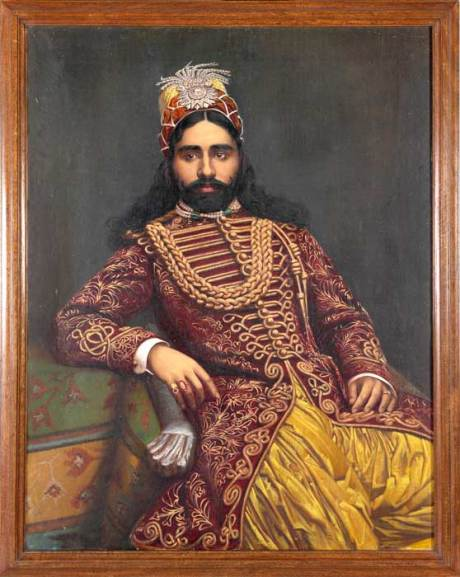 Sadiq Muhammad Abbasi IV of Bahawalpur, around 1880 on exshoesme.com