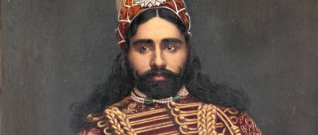 Sadiq Muhammad Abbasi IV of Bahawalpur Detail, around 1880 on exshoesme.com